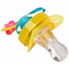 LED Flashing Pacifier - Rave Rebel