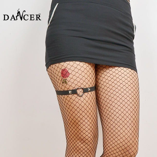 One Band Leg Garter - Rave Rebel