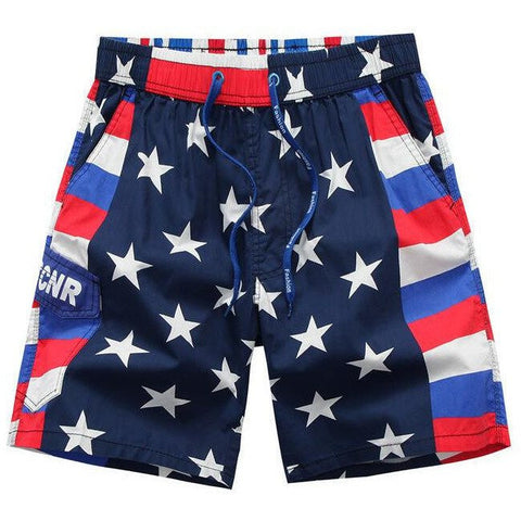 USA Flag Shorts - Rave Rebel
