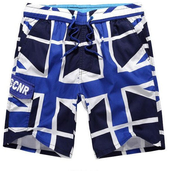 UK Flag Shorts - Rave Rebel