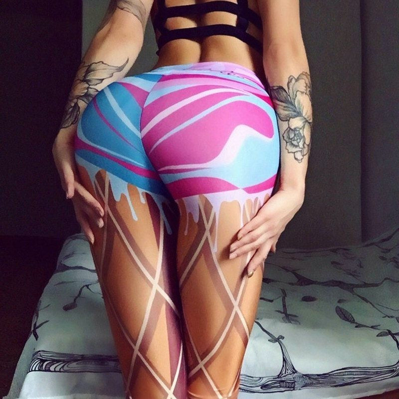 Drip Drop Leggings - Rave Rebel
