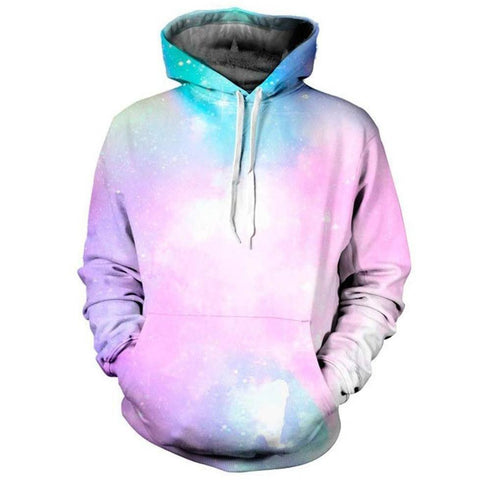 Cloudy Galaxy Pullover - Rave Rebel