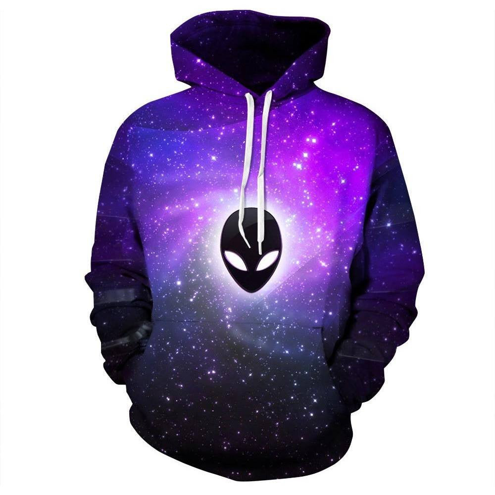 Alien Galaxy Pullover - Rave Rebel