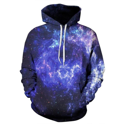 Electric Galaxy Pullover - Rave Rebel