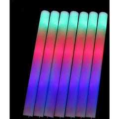 Light Up Multi Color LED Foam Stick Wands R - Rave Rebel