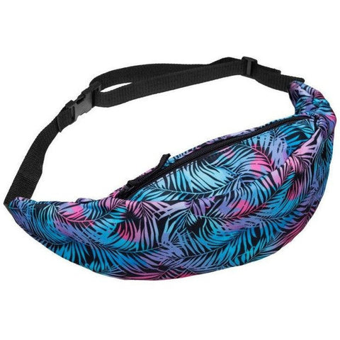 Blue Jungle Fanny Pack - Rave Rebel