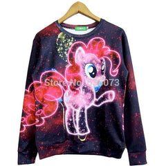 Retro Unicorn Pullover - Rave Rebel