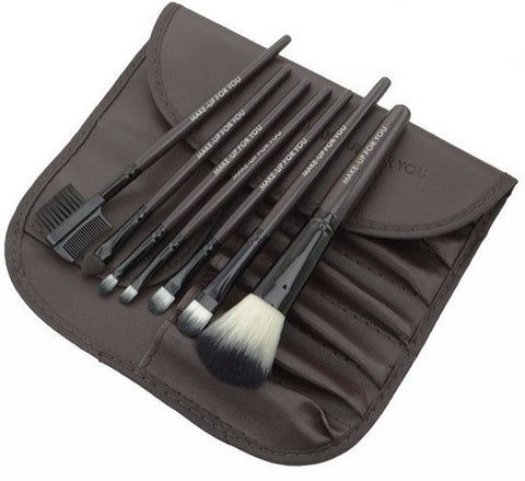 Brown 7pcs Makeup Brush Kit
