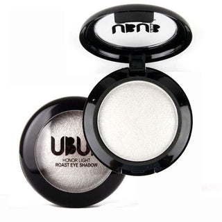 UBUB White Shimmer Metalic Eyeshadow Palette - Rave Rebel