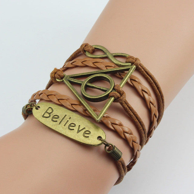 Vintage Believe Multilayer Bracelet - Rave Rebel