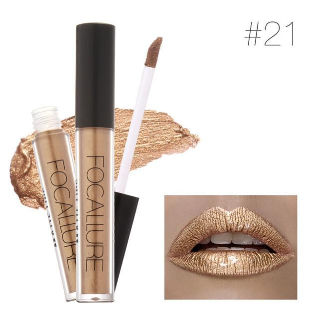 Gold Metallic Lipgloss - Rave Rebel
