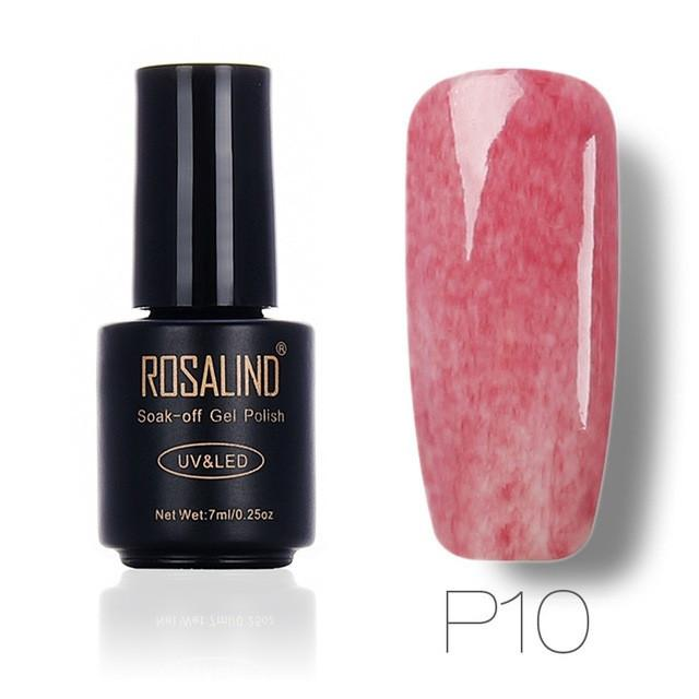 ROSALIND 7ml Faux Fur Effect Nail Polish - Pink - Rave Rebel