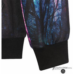 Forest Galaxy Hoodie - Rave Rebel
