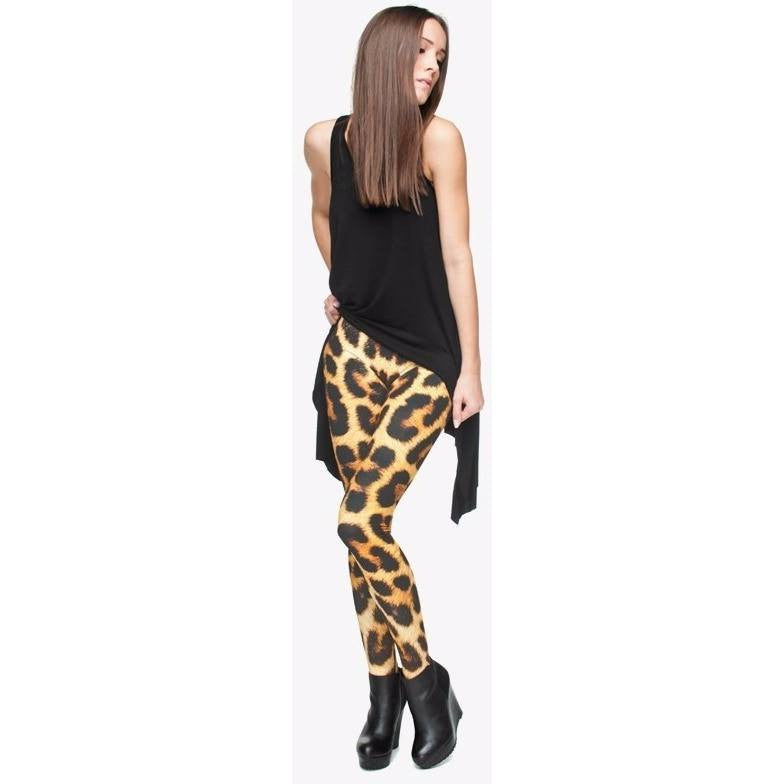 Panther Leggings - Rave Rebel