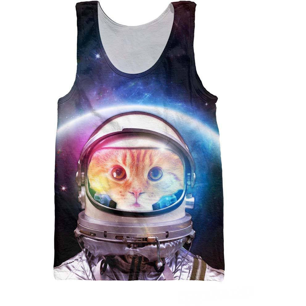 Space Kitty Tank - Rave Rebel