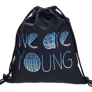We Are Young Drawstring Bag - Rave Rebel