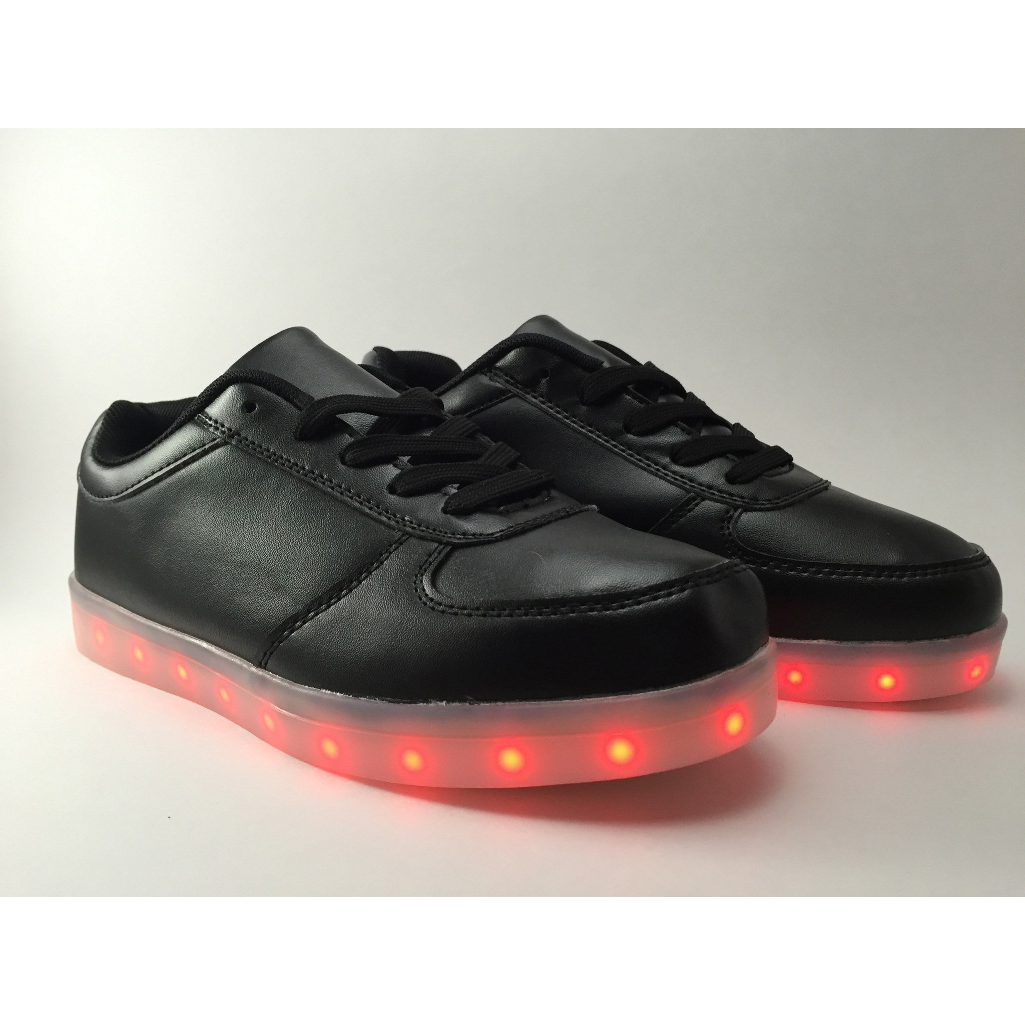 Black LED Light Up Shoe - Rave Rebel