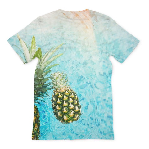 Pineapple Delight Men's Tee - Rave Rebel