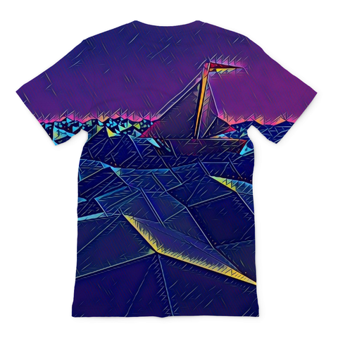 Triangular Ocean Men's Tee