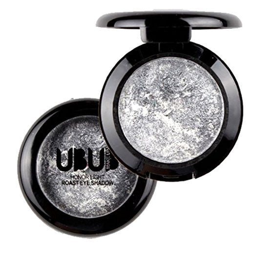 UBUB Silver Shimmer Metallic Eyeshadow Palette - Rave Rebel