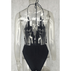 Sequin Bodycon Bodysuit - Rave Rebel