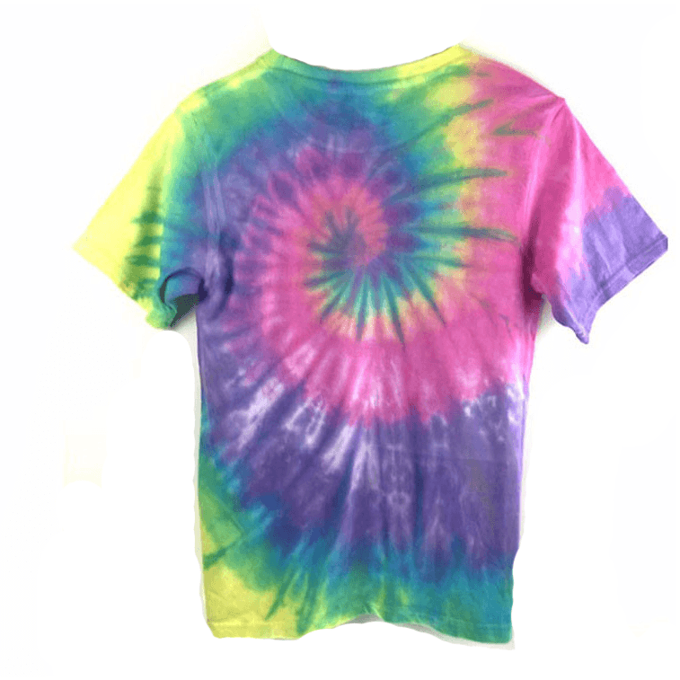 Fuck Off Tie Die Tee - Rave Rebel