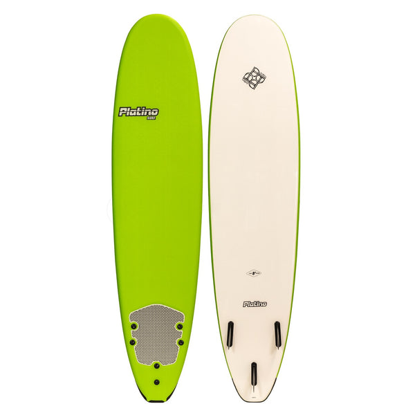 Platino 9ft Malibu Softboard Apple Green White