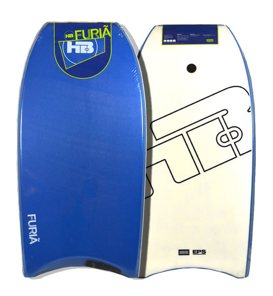 "Hot Buttered 42.5"" EPS Bodyboard Blue White"