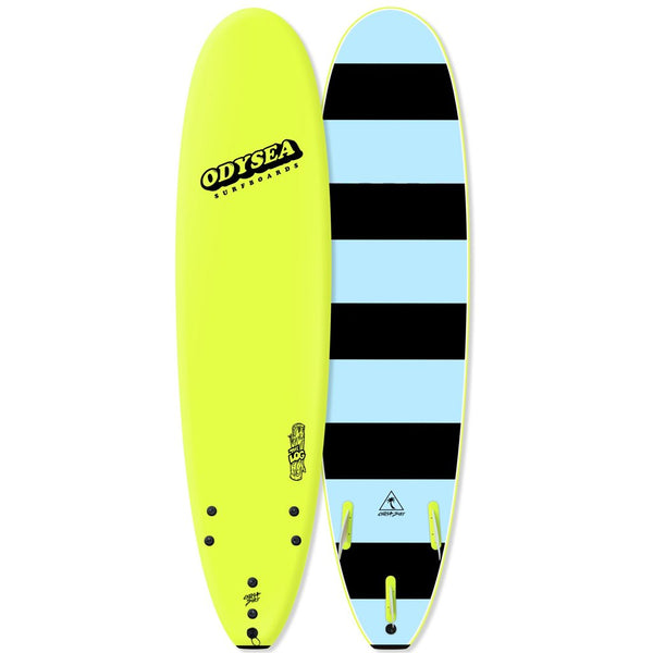 Catch Surf Odysea Log 7'0 Electric Lemon With High Performance Fins