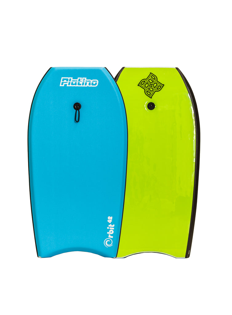 "Platino 42"" Orbit EPS Bodyboard Azure Blue Lime"