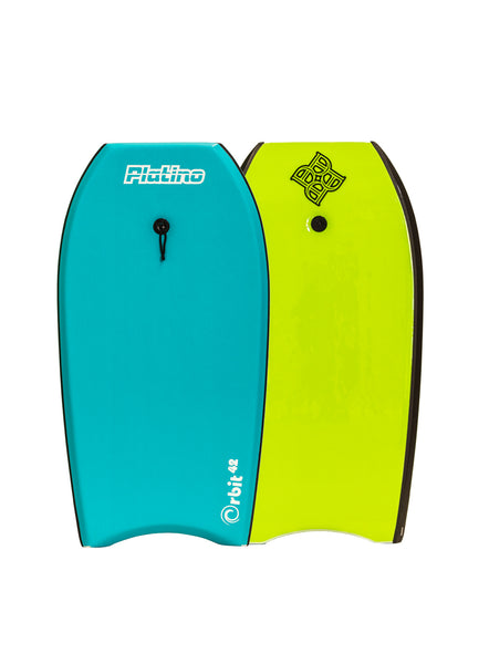 "Platino 42"" Orbit EPS Bodyboard Blu Carcao Lime"