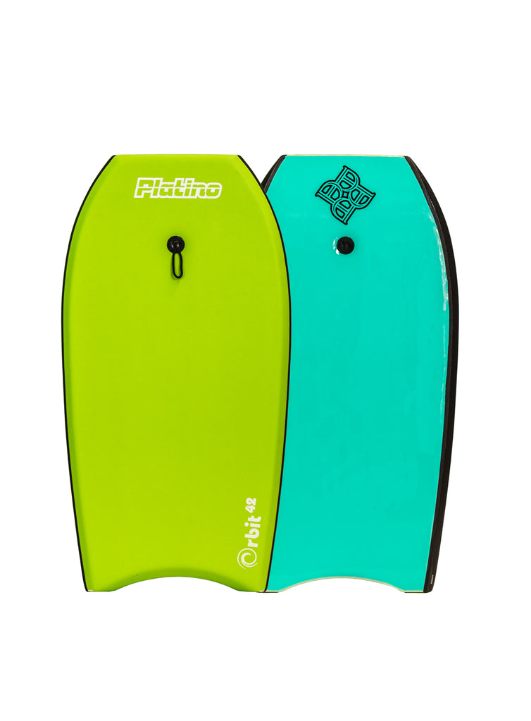"Platino 42"" Orbit EPS Bodyboard Lime Turquoise"