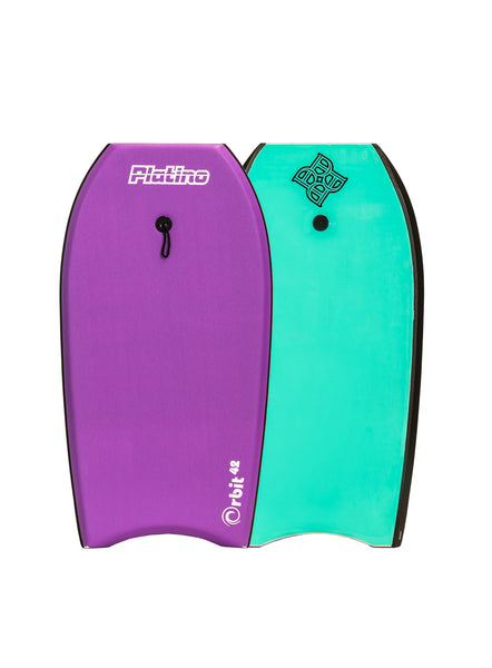 "Platino 42"" Orbit EPS Bodyboard Purple Turquoise"