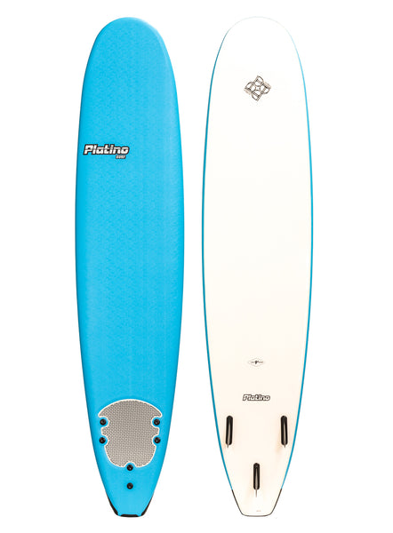 Platino 9ft Malibu Softboard Azure Blue