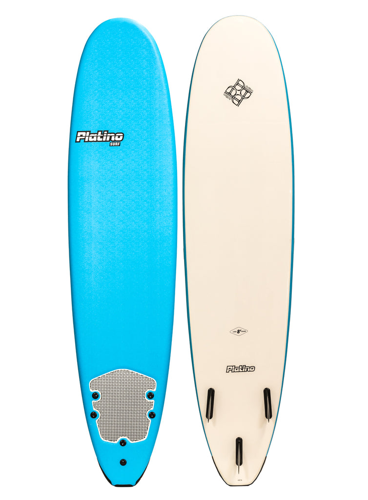 Platino 8ft Soft Top Softboard Azure White
