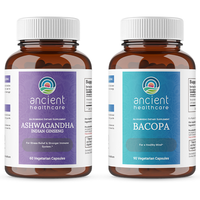 Brain Bundle - Ashwagandha & Bacopa