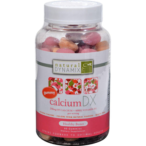 Natural Dynamix Calcium Dx For Adults - 60 Gummies
