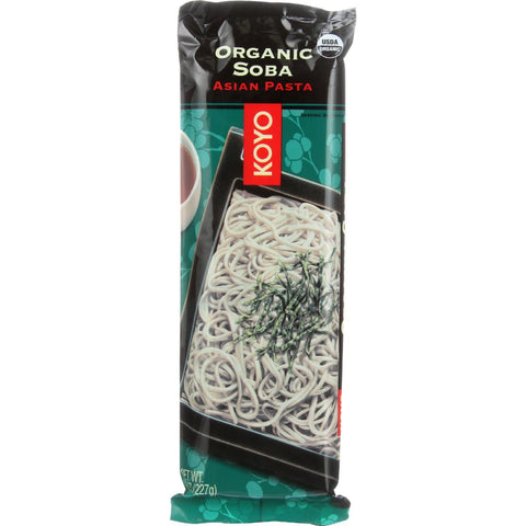 Koyo Pasta - Organic - Soba - 8 Oz - Case Of 12