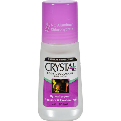 Crystal Body Deodorant Roll-on - 2.25 Fl Oz