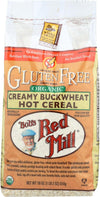 Bob's Red Mill Organic Gluten Free Creamy Buckwheat Hot Cereal - 18 Oz - Case Of 4
