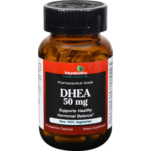 Futurebiotics Dhea - 50 Mg - 75 Vegetarian Capsules
