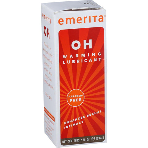 Emerita Oh Warming Lubricant - 2 Oz