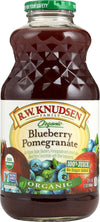R.w. Knudsen Organic Juice - Blueberry Pomegranate - Case Of 1 - 32 Fl Oz.