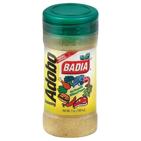 Badia Spices Adobo Seasoning Without Pepper - Case Of 12 - 7 Oz.