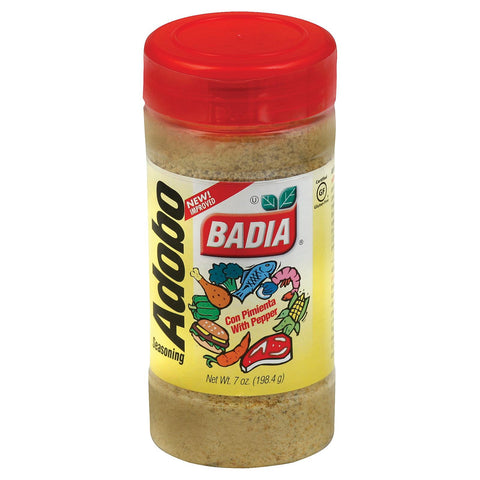 Badia Spices Adobo Seasoning With Pepper - Case Of 12 - 7 Oz.