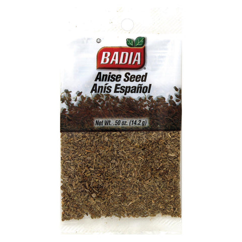 Badia Spices Anise Seed - Case Of 12 - 0.5 Oz.