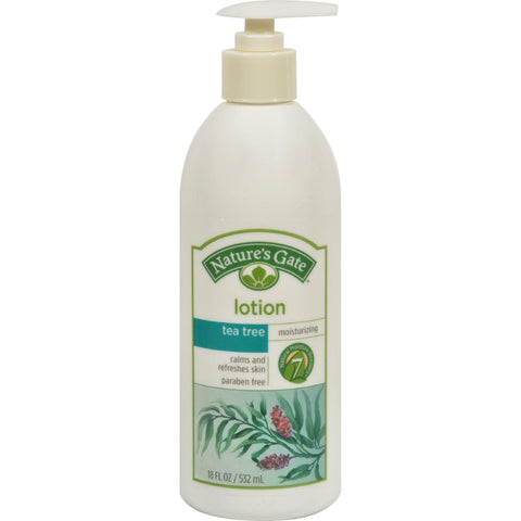 Nature's Gate Mosturizing Lotion Tea Tree - 18 Fl Oz