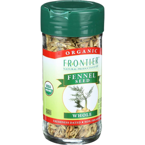 Frontier Herb Fennel Seed - Organic - Whole - 1.28 Oz