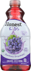 Honest Kids Goodness Grape Juice Drink - Case Of 8 - 59 Fl Oz.