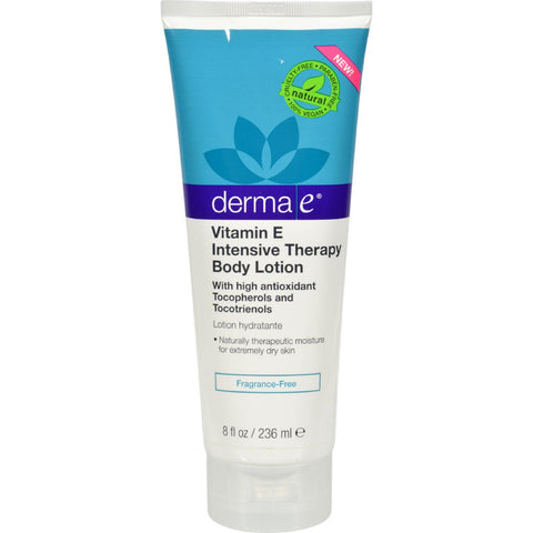 Derma E Vitamin E Intensive Body Lotion - Fragrance Free - 8 Fl Oz